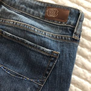 Pacsun skinny jeans with embellished pockets